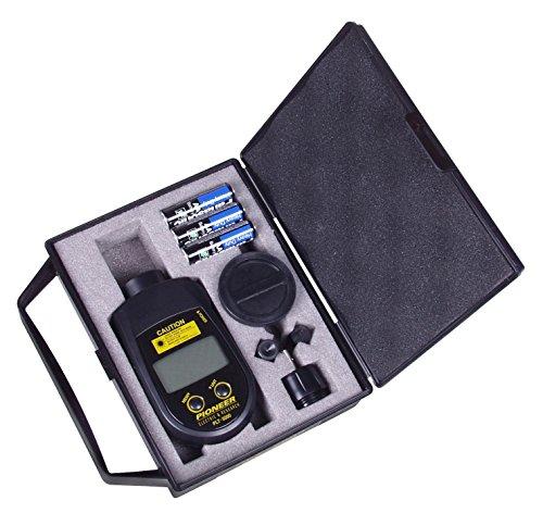 PLT-5000 Handheld Laser Tachometer, Range: Contact, 6.0 - 20,000 / Non-Contact; 6.0 - 99,999