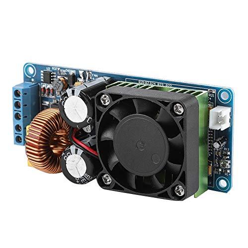 fosa Digital Amplifier, Dual DC Power Supply ± 58-± 70V Power Amplifier Board IRS2092S 500W Mono Channel Class D HiFi Power Amp Board