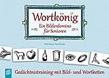 Verlag an der Ruhr GmbH Wortkönig. EIN Bilderdomino für Senioren: Gedächtnistraining mit Bild-...