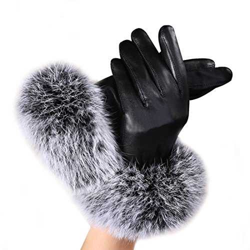 62 Pairs Womens Winter Warm Gloves Fleece Lined Windproof Gloves for Women Girls Winter Using