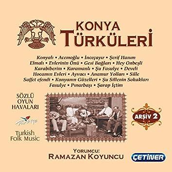 Konya Türküleri Arşiv 2