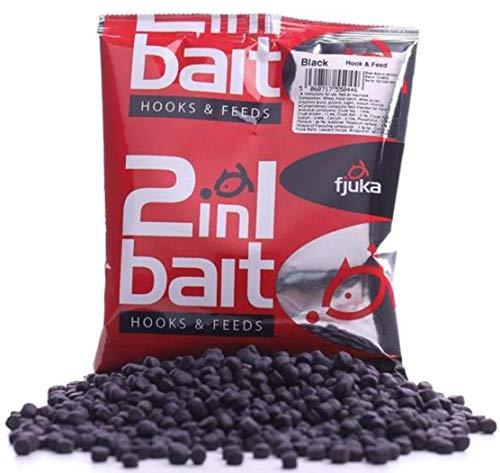 Fjuka Black 2in1 Bait. The soft feed pellet that's a perfect hookbait.…