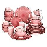 YWSZJ Conjunto de Cena de Porcelana de 16/32 Piezas Conjunto de Placa de cerámica Vintage con Plato de Cena, Placa de Postre, tazón, Conjunto de Tazas (Color : 32-Piece Set)