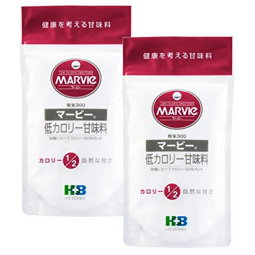 HBライフサイエンス マービー甘味料粉末 300g×2袋