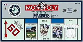 USAopoly Seattle Mariners Baseball Collector's Edition Monopoly Board Game