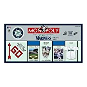 Collector's Edition Monopoly game Features Ichiro, Bret Boone, Lou Piniella and all the leading Mariners players Age: 8 and up