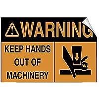 アートサインスズメタルサイン機械の危険に手を触れないでください、警告サインメタルプラークのポスター鉄の絵画アート装飾バーカフェ&キュートホテルオフィスベッドルームガーデン