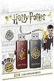 EMTEC Memoria USB 2.0 de 32 GB, M730, Harry Potter Gryf.& Hogw