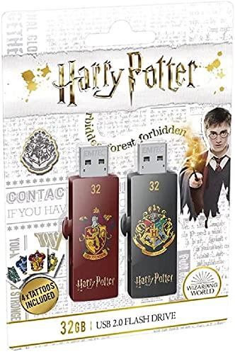 EMTEC - Chiavetta USB 32 GB M730 USB 2.0 Harry Potter Gryf.& Hogw