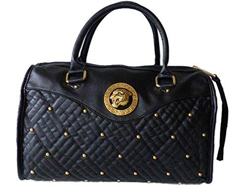 Friis & Company Tasche Damen Handtasche Tragetasche Lionhunt Square Bag Black
