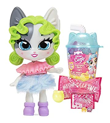 Kitten Catfé Purrista Girls Doll Figures Series #3 - 12 Different Purrista Girls to Collect! Each Comes Individually Blind Packed in Its Own Boba Cup - Which One Will You Get?