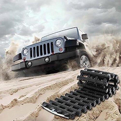 LPY-Poignée antidérapante antidérapante de plat de tapis de traction de roue de voiture anti-dérapante de roue universelle pour la boue de neige