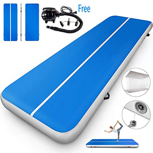 Air Track 10Ft Airtrack Floor Tumbling Inflatable Gymnastics Mat FitnessExercise