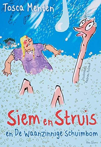 Backcard a 5 ex. Siem en Struis en De Waanzinnige Schuimbom
