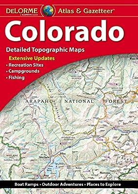 DeLorme Atlas & Gazetteer: Colorado (Colorado Atlas and Gazetteer)