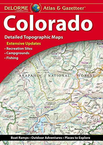 DeLorme Atlas & Gazetteer: Colorado (Colorado Atlas and Gazetteer)