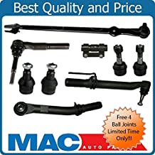 05-16 Fits For Ford F250 F350 Super Duty Out Tie Rod Ends Drag Link kit 4 Wheel Drive