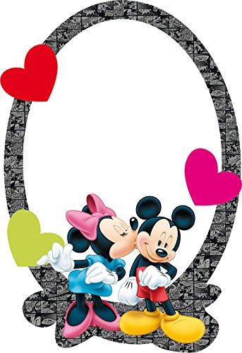 Miroir Disney Minnie & Mickey Mouse Sagomato