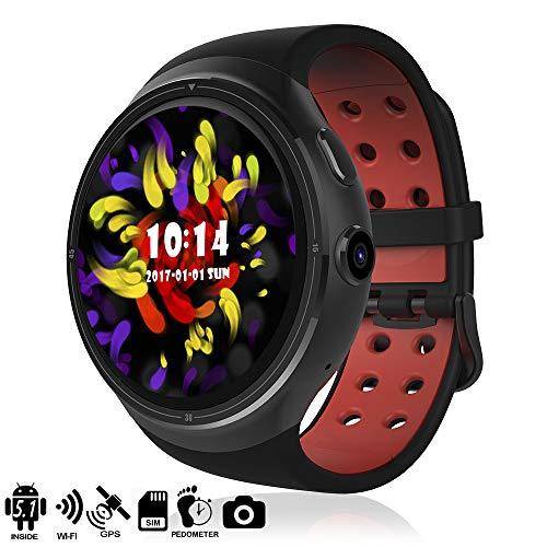 DAM TEKKIWEAR. DMZ012BK. Smartwatch Phone Ak-Z10 Quad Core con Sistema Operativo Android 5.1, GPS Y Wi-Fi. Aplicaciones Descargables. Pantalla Ogs. Negro