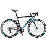 SAVADECK Carbon Road Bike, Windwar5.0 Carbon Fiber Frame 700C Racing Bicycle with 105 22...