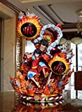 Anime One Piece Monkey D Luffy Gk Statue Gear Fourth Snakeman 52Cm, Action Figure Model Toys Statue Collection Toy Doll