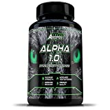 Alpha 1.0 -Testosterone Booster For Men 90 Capsules - An Advanced Testosterone Supplement