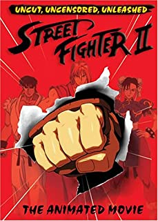 Street Fighter 2: The Animated Movie [DVD] [Import]
