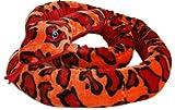 Serpent rouge grand 254 cm