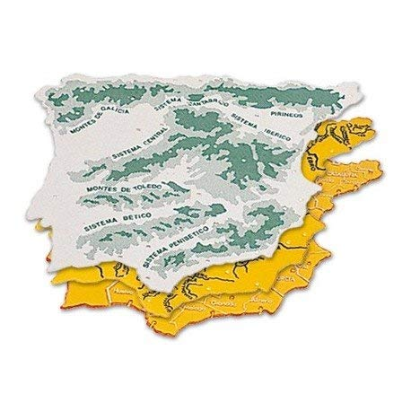 CSP 152218 - Pack 3 plantillas diseño mapa España