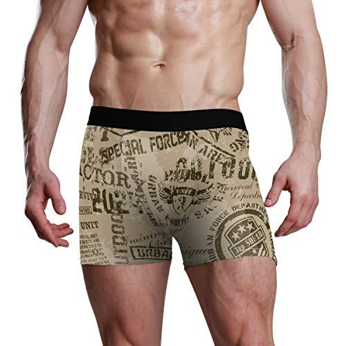 LUPINZ Herren Unterwäsche, Armee-Muster, Boxershorts Gr. X-Large, 1