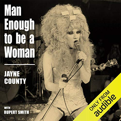Man Enough to Be a Woman audiobook cover art