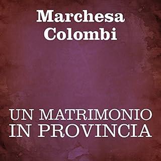Un matrimonio in provincia [A Marriage in the Province] cover art