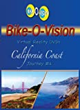 Bike-O-Vision - Virtual Cycling Adventure - California Coast - Perfect for Indoor Cycling and Treadmill Workouts - Cardio Fitness Scenery Video (Fullscreen DVD #4)