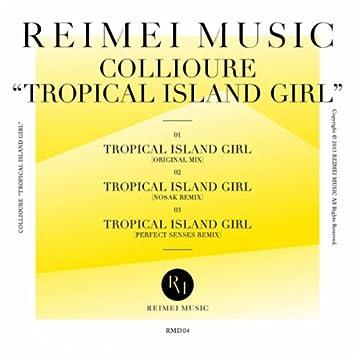 Tropical Island Girl