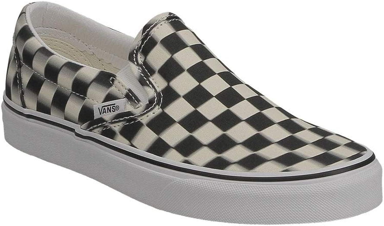 Vans Ua Classic Slip-On (bluer Check) Black Classic