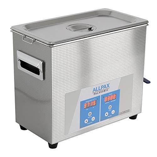 Allpax PALSSONIC Eco Ultraschallreiniger UD06, 6,5 Liter - mit Heizung - Reinigung klein- bis mittelgroßen Gegenständen wie Werkzeugteile, medizinische Instrumente etc.