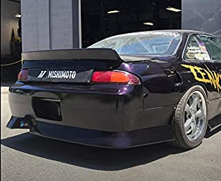 KBD Body Kits Compatible with Nissan 240SX S14 ALL 1995-1998 DM3 1 Piece Flexfit Polyurethane Rear Bumper. Extremely Durable, Easy Installation, Guaranteed Fitment, Made in the USA!