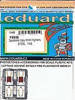 エデュアルド 1/48 ズームエッチングシリーズ 第二次世界大戦 イタリア軍 戦闘機用シートベルト ステンレス製 プラモデル用パーツ EDUFE826