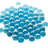 PREMIUM QUALITY - Our assorted marbles are made from high-grade glass, firm and sturdy, smooth with a nice finish, durable and high-strength, designed for long-time use. LOOKS - Having Glass and Light are the perfect match and harmony when it comes t...