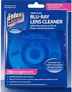 Endust for Electronics, Blu-Ray Disc Lens Cleaner, Microfiber towel included, Dust removal (11452)