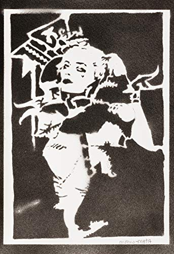 Harley Quinn Suicide Squad Poster Plakat Handmade Graffiti Street Art - Artwork