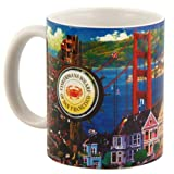 (7 6/18) San Francisco Coffee Mug 11oz SFMugola With Copyright SF Magnet