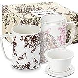 The Tea Couple Tea Infuser Mug (Set of 2) 14...