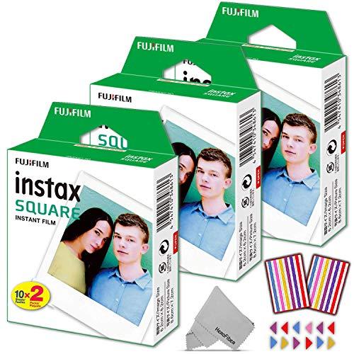 Fujifilm Instax Square Instant Film 60 Photo...