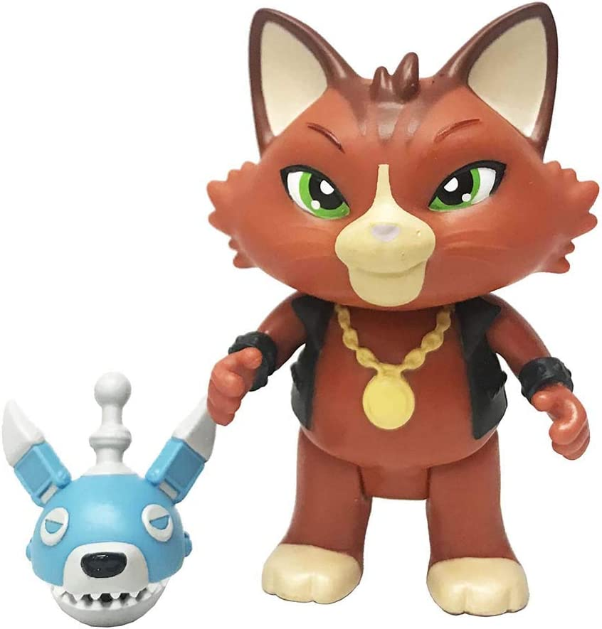 Smoby Toys 7600180110-44 CATS-jeu personnage LAMPO avec guitare-Neuf