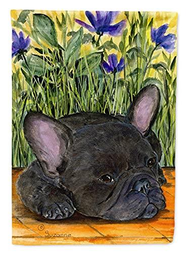 Caroline's Treasures SS8674GF French Bulldog Flag Garden Size, Small, Multicolor