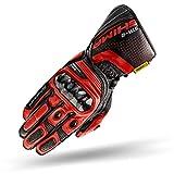 SHIMA STR-2 Gloves Red, Guantes de Motocicleta para Hombres