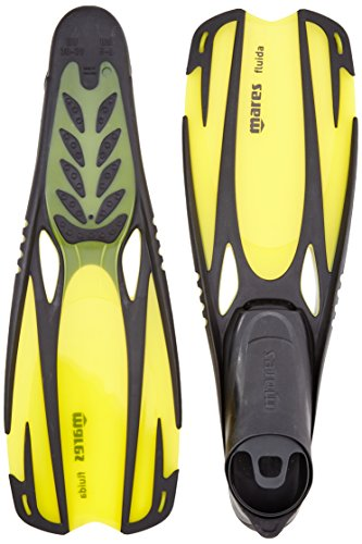 Mares Flosse Fluida, Yellow, 38-39