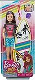 Barbie GHK35 - Traumvilla Abenteuer Basketball Stacie Puppe im Basketball-Trikot mit Zubehör,...