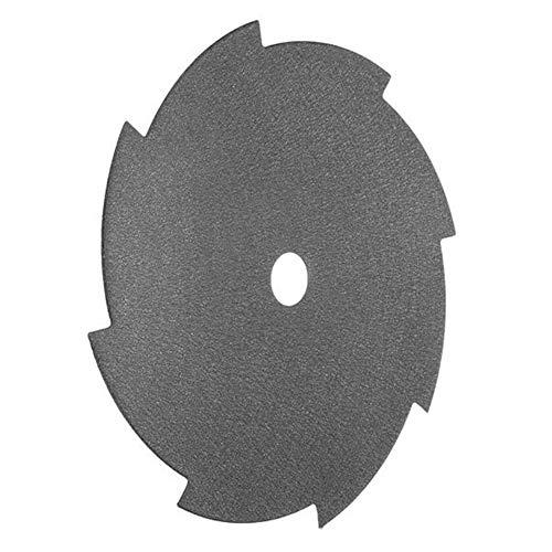 JINKEBIN Abrasivo de Hojas de Sierra Circular, 255x25.4x1.6mm 8 Diente de la Hoja del Cortador de Cepillo Strimmer Sierra de Corte Herramientas de Hoja eléctrico